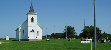 Old French Church - Woolstock, Iowa - Grandgeorge